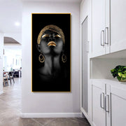 Black & Gold Women