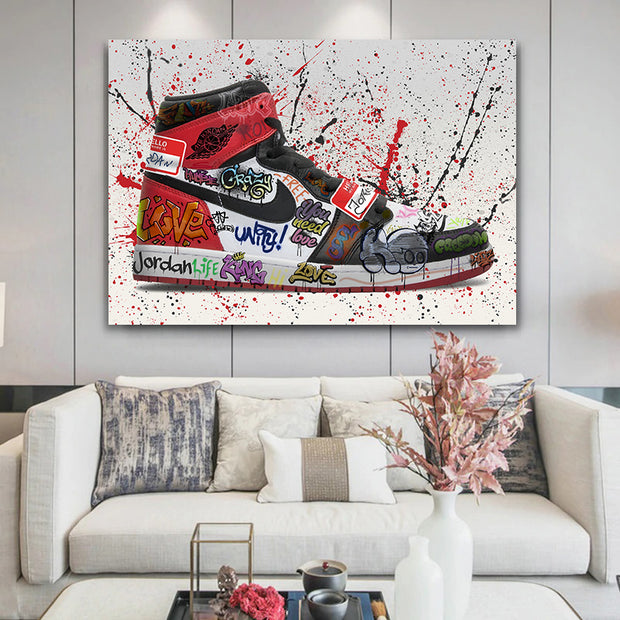 Jordan 1 OG Graffiti Canvas