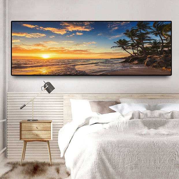 Sunsets Palms Print