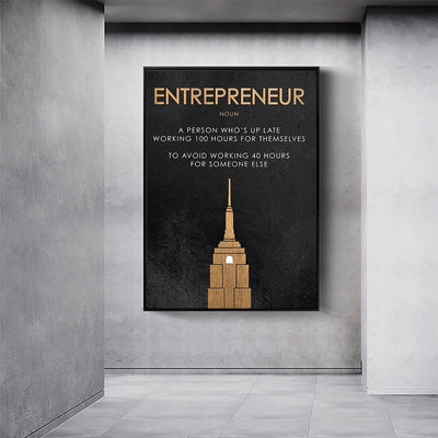 Entrepreneur Motivational Print