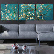 3 Panel Van Gogh Almond Blossom