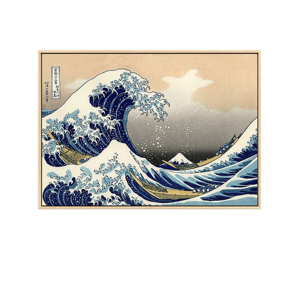 The Great Wave off Kanagawa Canvas