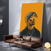 Tupac Portrait Canvas