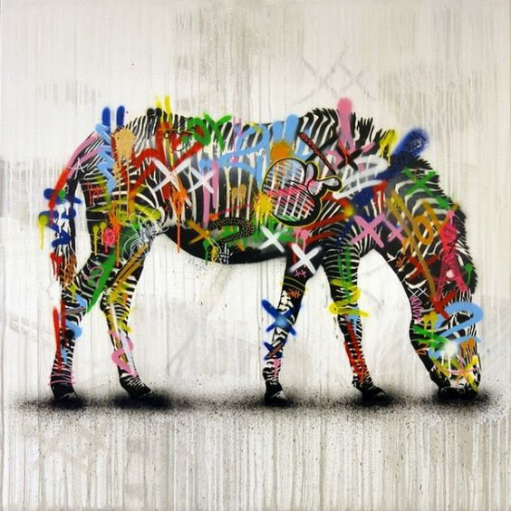 Graffiti Zebras