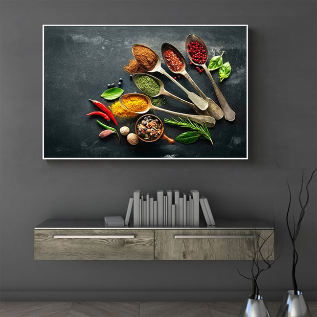 Spices canvas art
