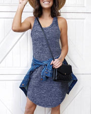 Basic Mini Tank Dress