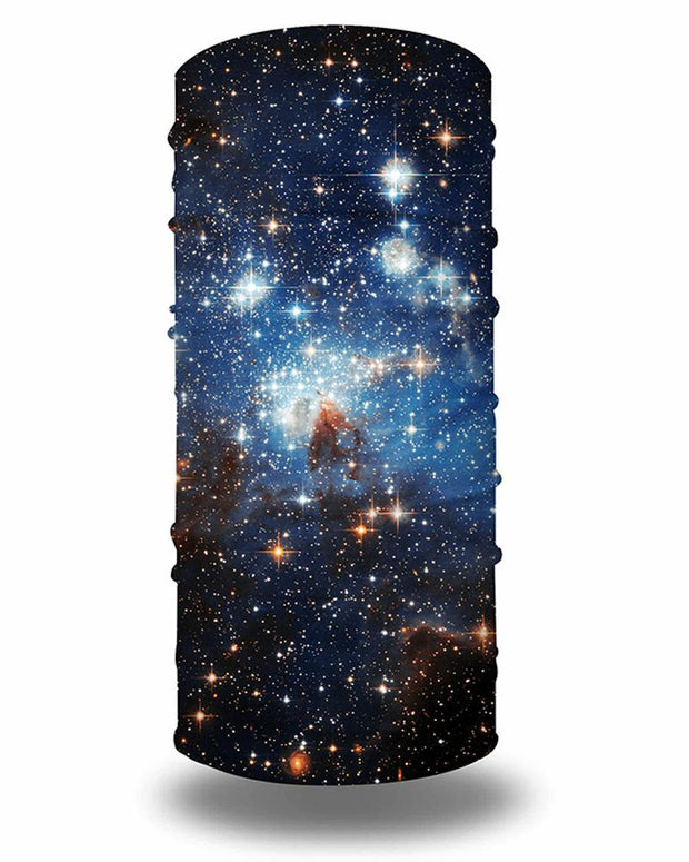 Galaxy Print Breathable Face Bandana Magic Scarf Headwrap Balaclava