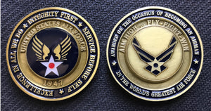 Air Force Airman Coin