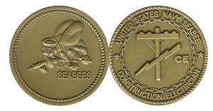 Seabee Rating Coin CE