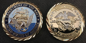 Navy LDO CWO Coin 3