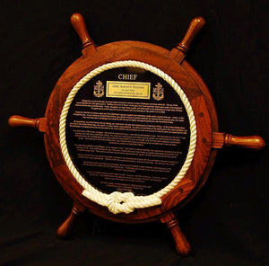 Ships Wheel Creed Package