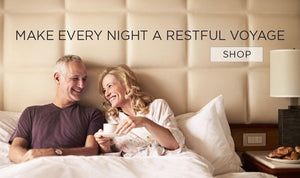 Make Every Night a Restful Voyage. Click to Shop