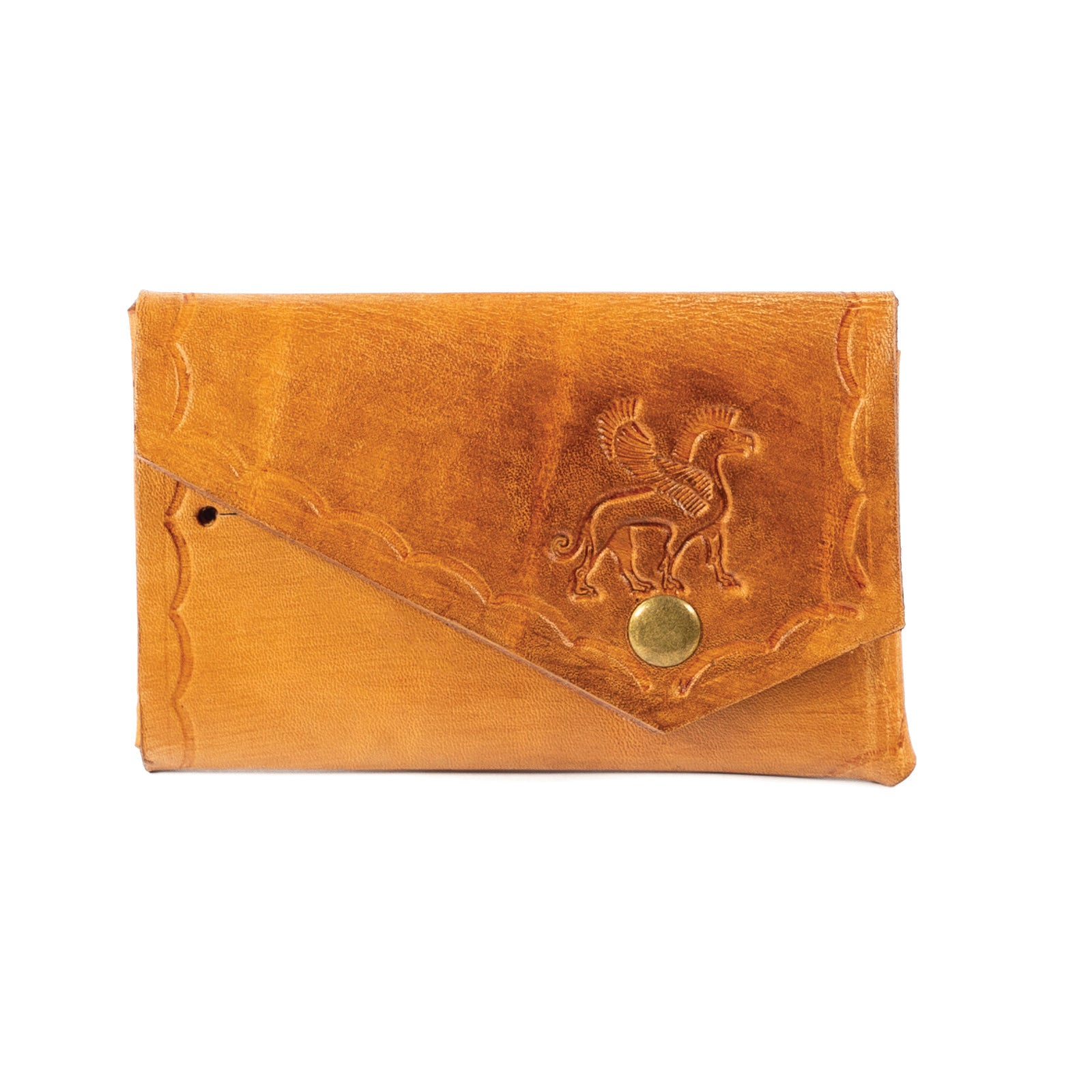 Derifix Lidya Tan Handmade Leather Cardholder