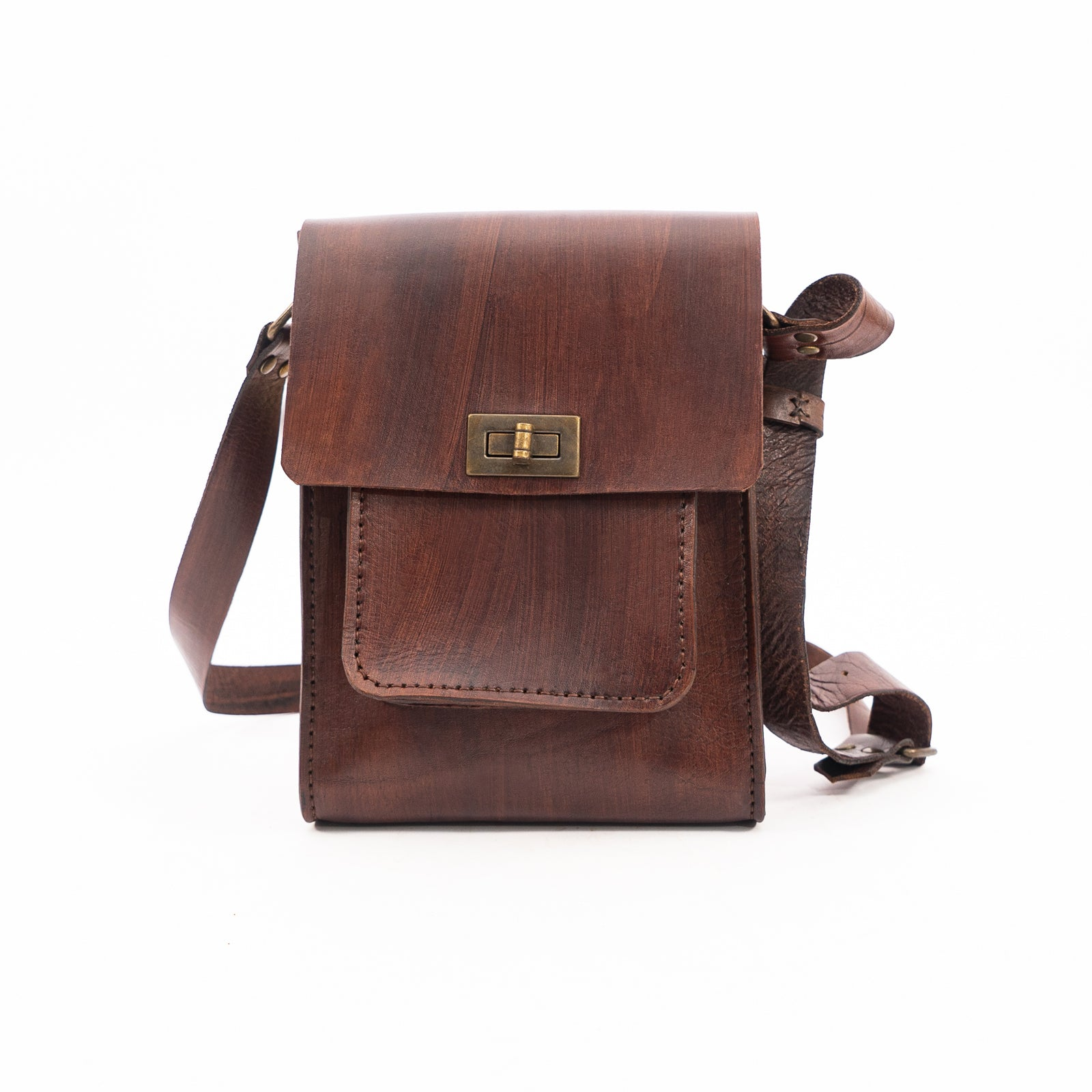 Derifix Sanor Men's Handmade Leather Bag
