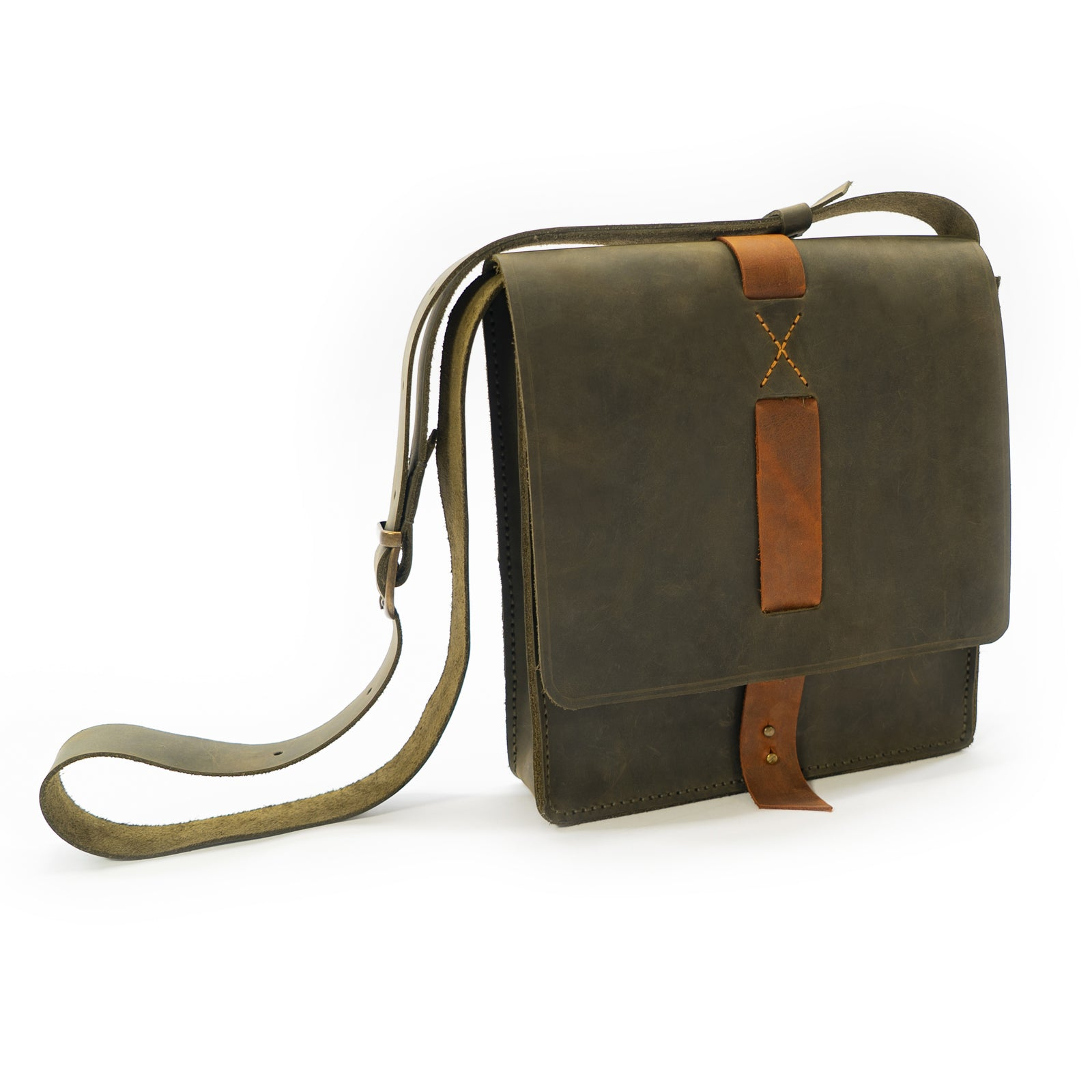 Derifix Lincoln Handmade Unisex Leather Bag