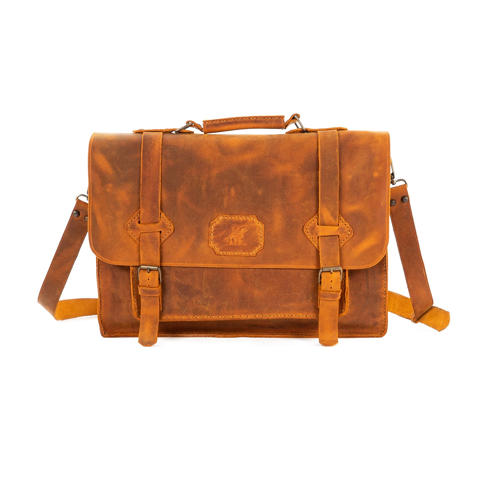 Derifix T62 Handmade Leather Laptop Bag
