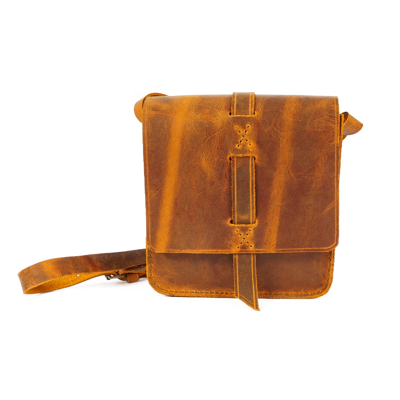Derifix Lincoln Junior Handmade Unisex Leather Bag