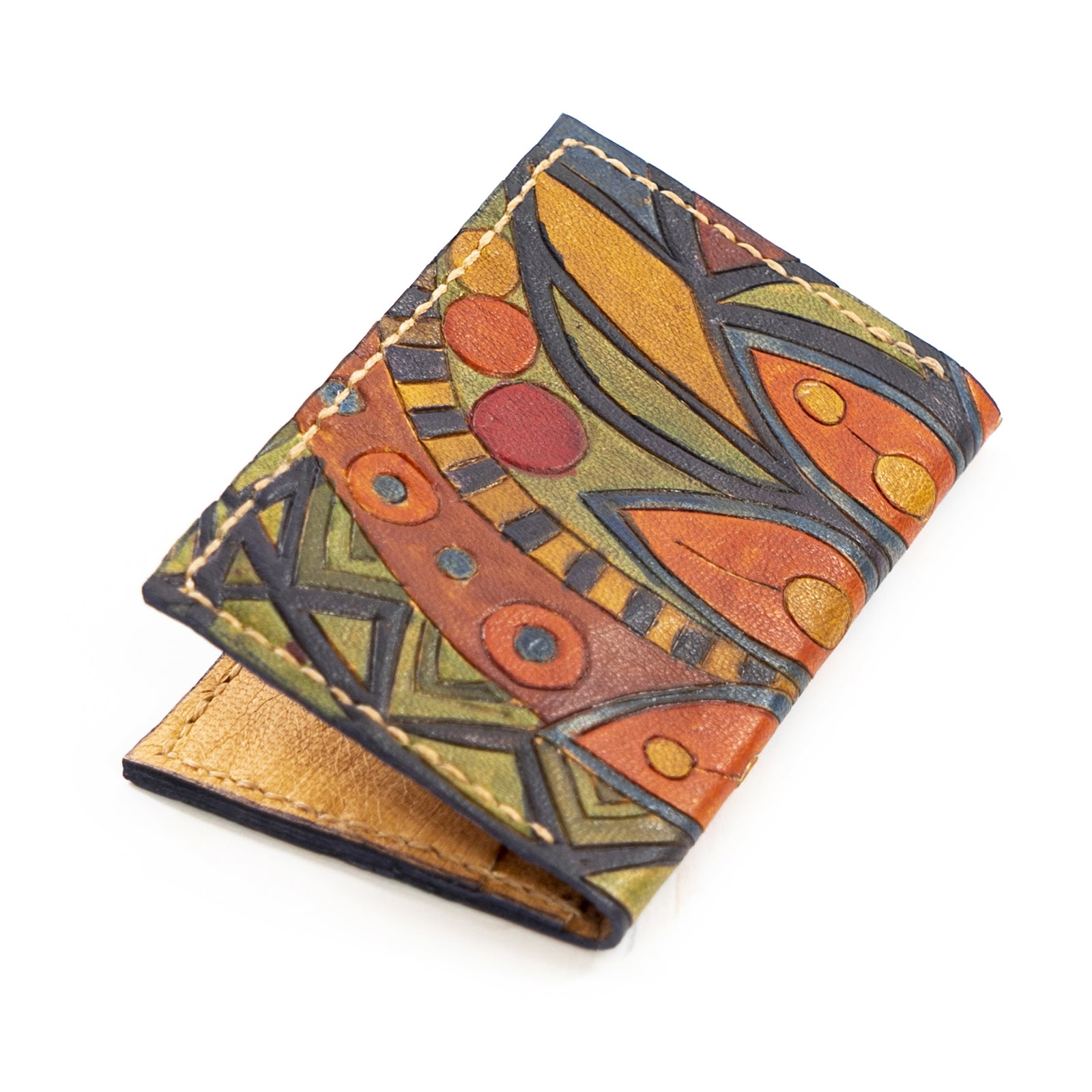 Derifix Charisma Handmade Leather Passport Wallet