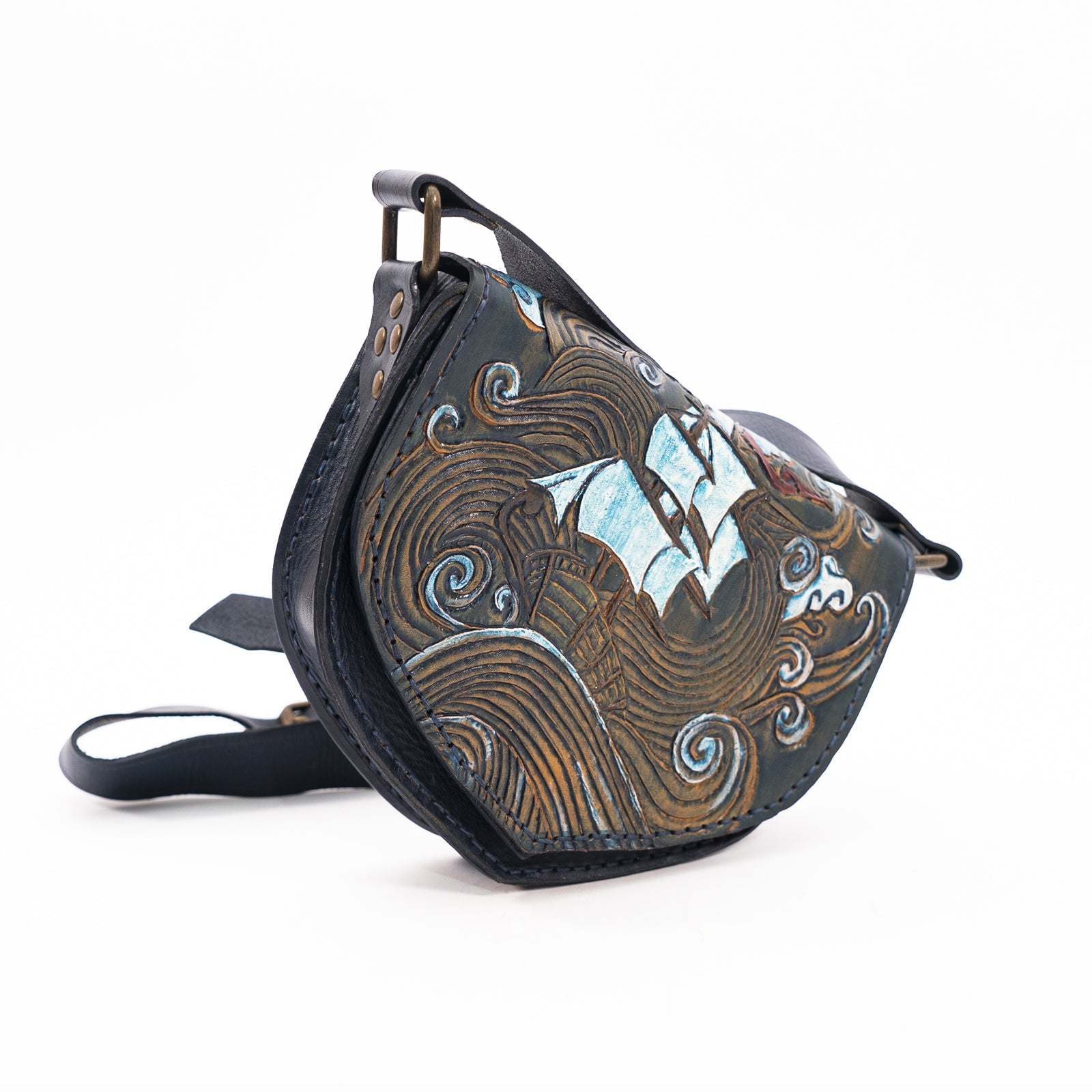 Derifix Axel Handmade Woman Leather Bag