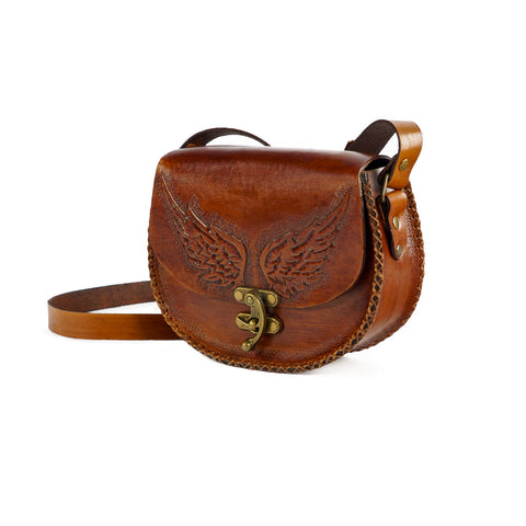 Derifix Angel Women's Handmade Leather Bag