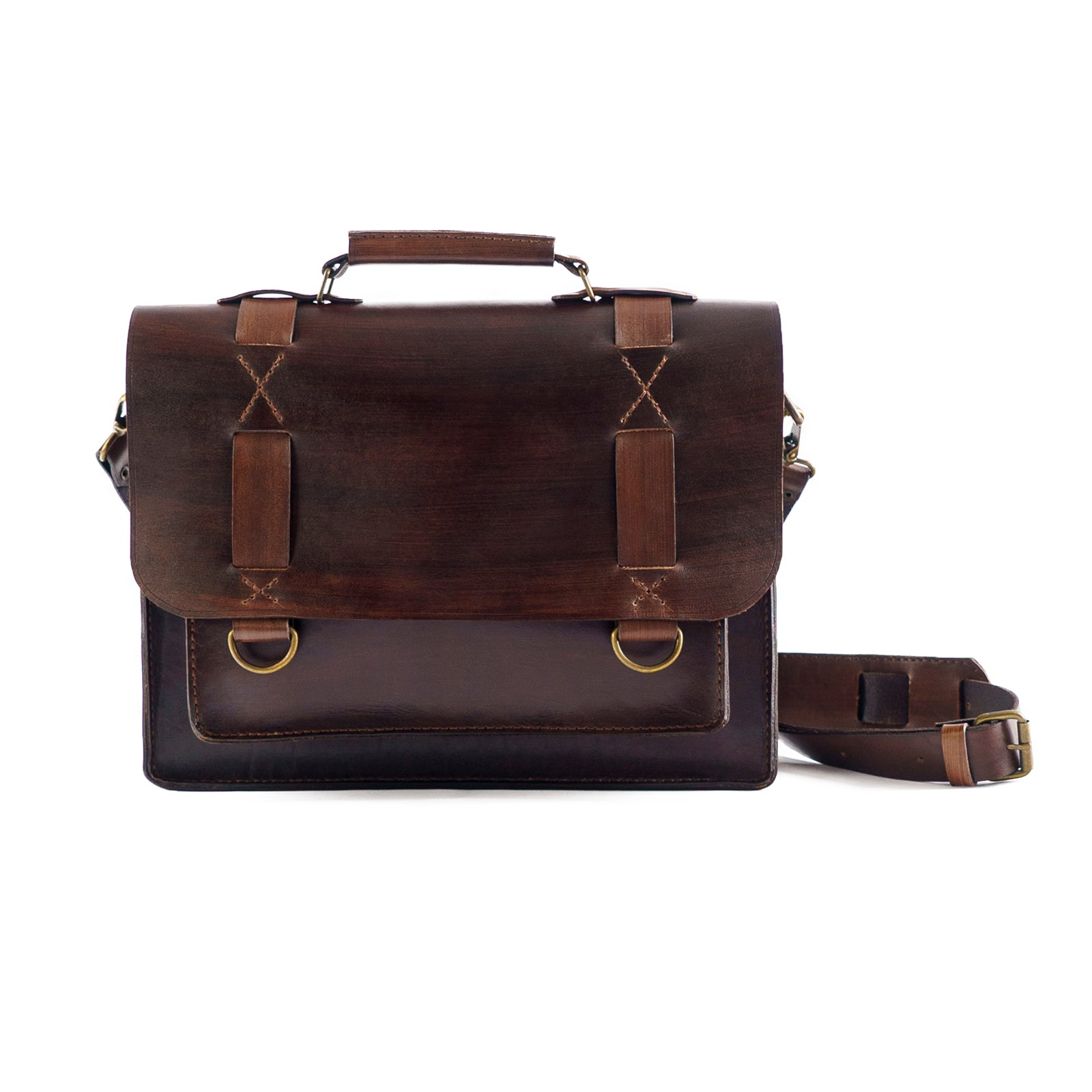 Derifix T63 Handmade Leather Laptop Bag