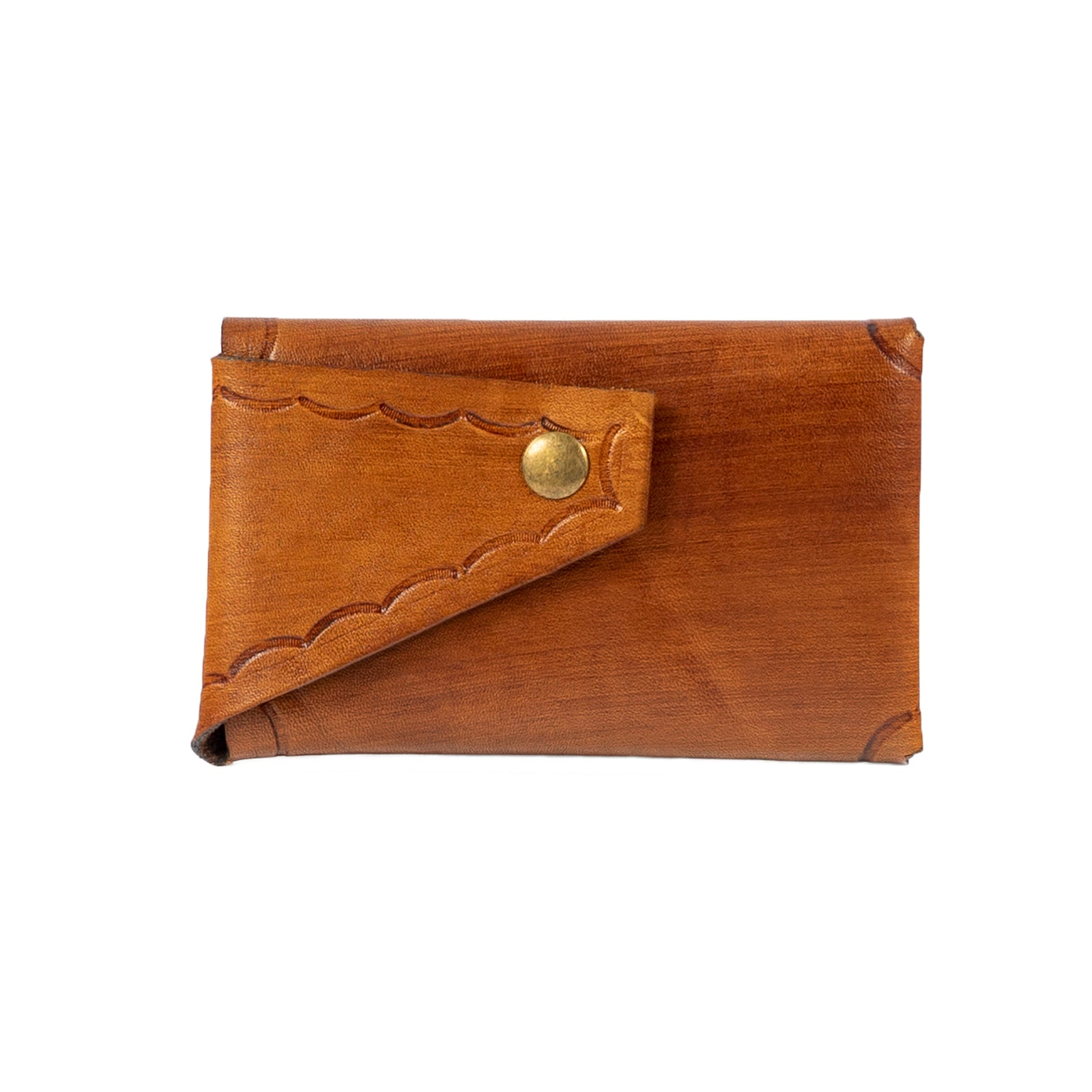 Derifix Lidya Light Brown Handmade Leather Cardholder