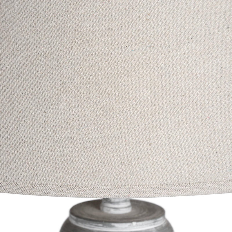 Patras Grey Wash Floor Lamp-I Love Retro
