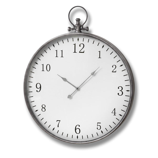 Victor Pocket Wall Clock-I Love Retro