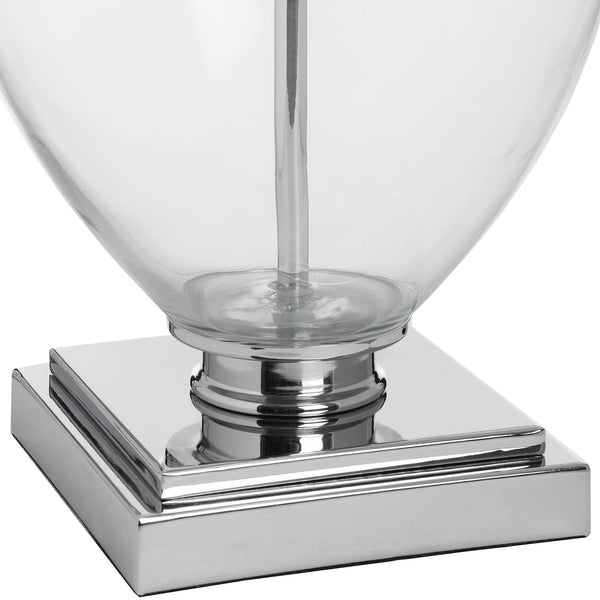 Tuscana Wide Glass Table Lamp-I Love Retro