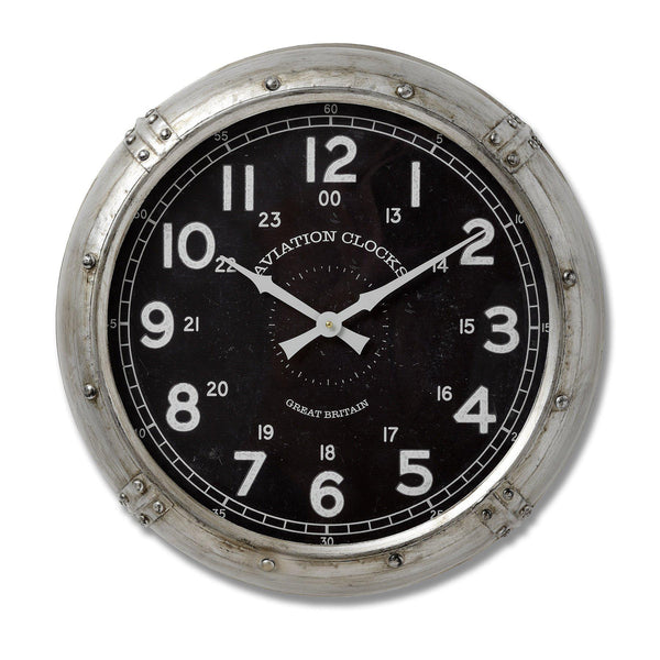 Peter Aviation Wall Clock-I Love Retro