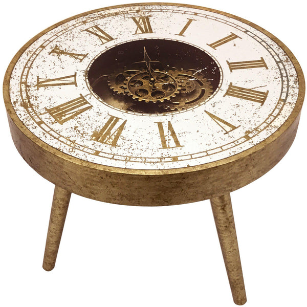 Jack Mirrored Clock Table-I Love Retro