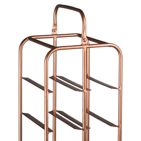 Bosa Copper 12 Bottle Wine Rack-I Love Retro