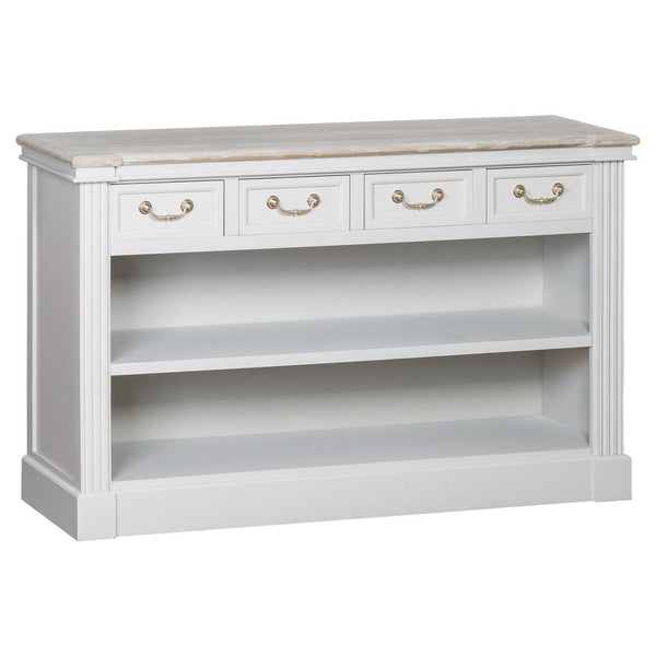 Odette Four Drawer Low Bookcase-I Love Retro