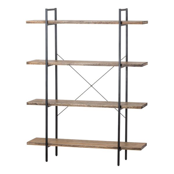 Sherbun Industrial Four Tier Shelf Unit-I Love Retro