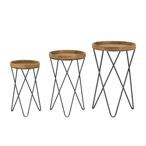 Candy Three Set Hairpin Leg Tables-I Love Retro