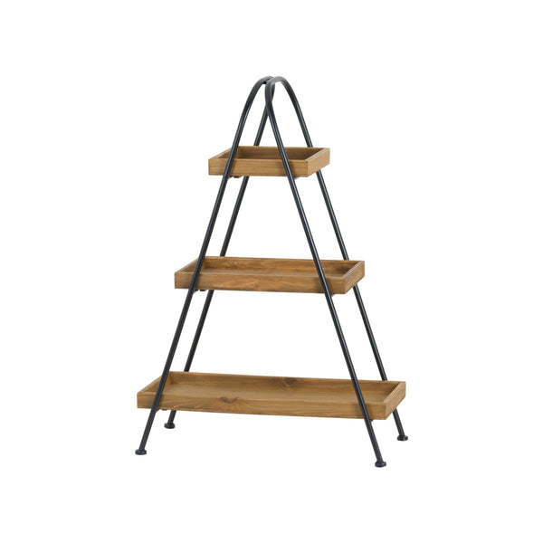 Toffie Three Tier Pyramid Shelf-I Love Retro