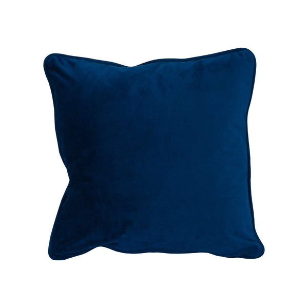 Operla Navy Velvet Accent Cushion-I Love Retro