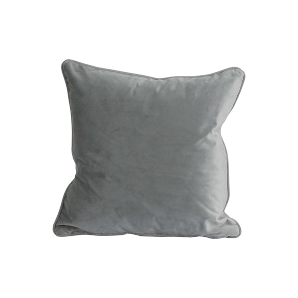Operla Grey Velvet Accent Cushion-I Love Retro