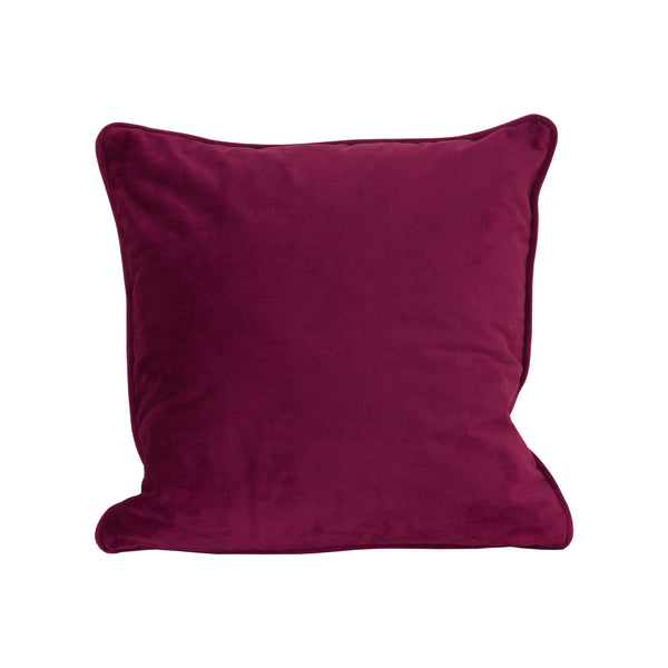 Operla Purple Velvet Accent Cushion-I Love Retro