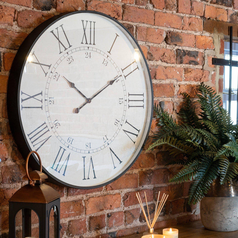 Nikrom Embossed Station Wall Clock-I Love Retro