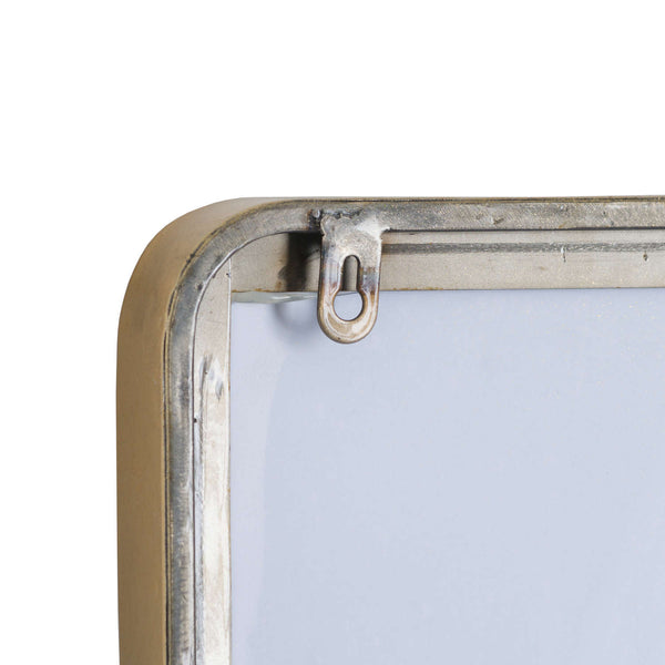 Roller Gold Curved Edge Wall Mirror-I Love Retro