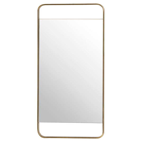 Scoda Rectangular Framed Wall Mirror-I Love Retro