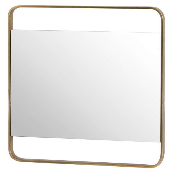 Scoda Framed Wall Mirror-I Love Retro