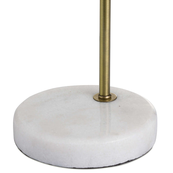 Sansa Marble and Brass Lamp-I Love Retro