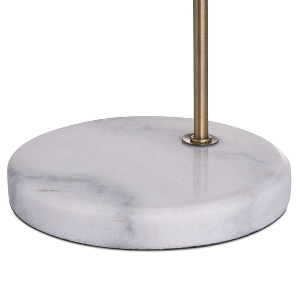 Sansa Marble and Brass Adjustable Lamp-I Love Retro