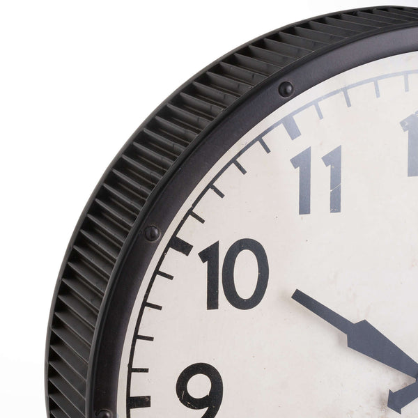 Rubb Grey Wall Clock-I Love Retro