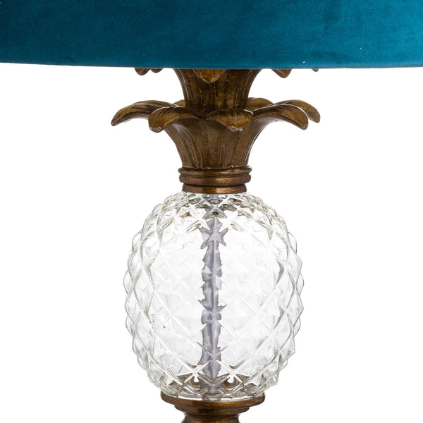 Hannah Glass Pineapple Floor Lamp-I Love Retro