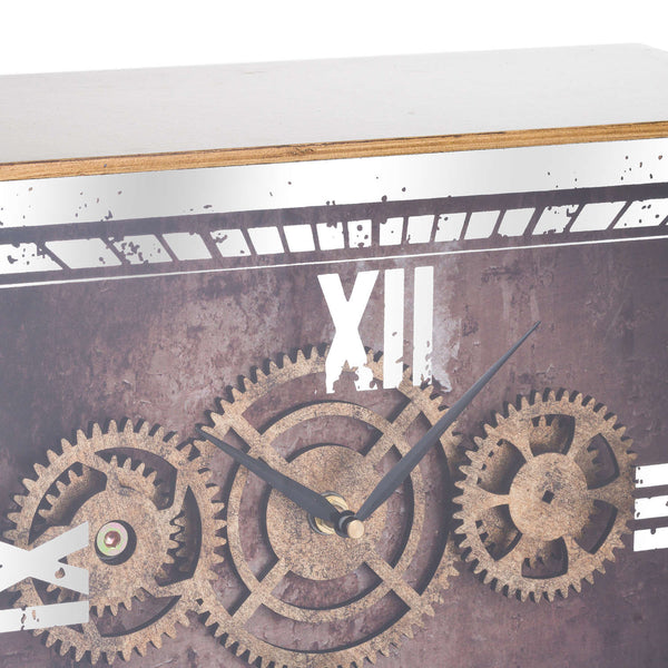 Jack Vintage Exposed Mechanism Mantelpiece Clock-I Love Retro