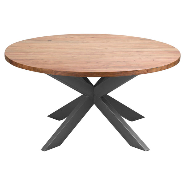 Arko Round Wood Dining Table-I Love Retro