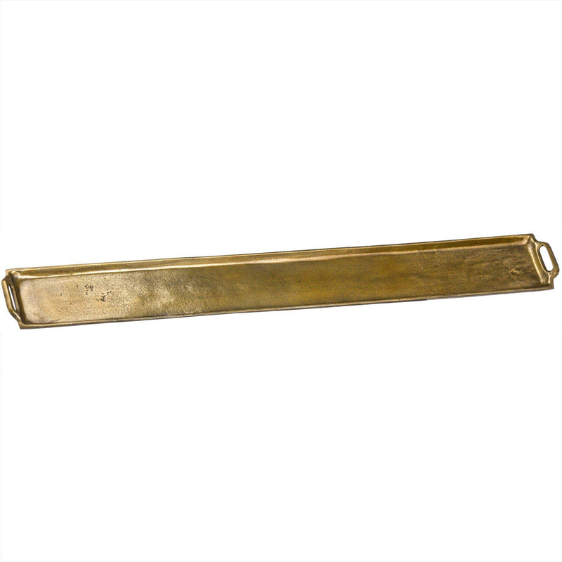 Klass Brass Cast Platter Tray-I Love Retro